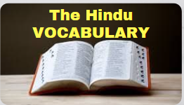 05-VOCABULARY  (The Hindu Editorial)