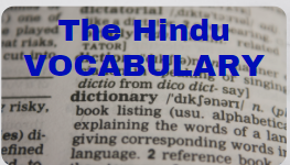 03 VOCABULARY (THE HINDU EDITORIAL)